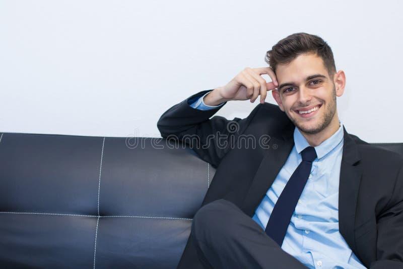 Retrato del ejecutivo imagenes de archivo
