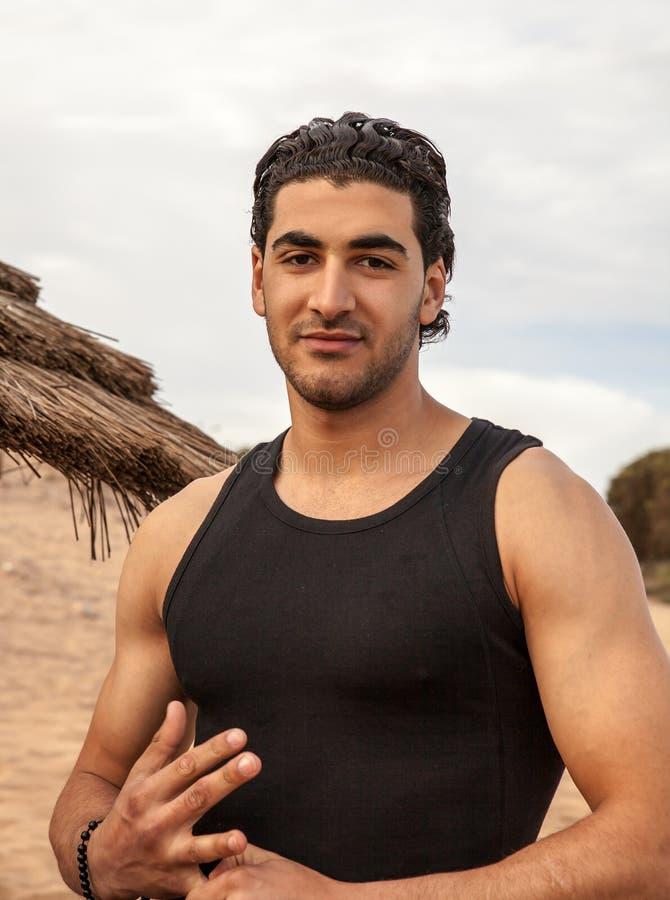 Retrato del hombre árabe imagen de archivo libre de regalías