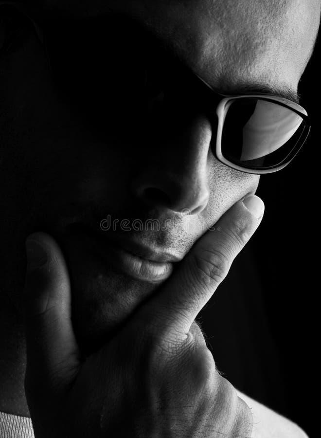 Retrato del hombre fotografía de archivo