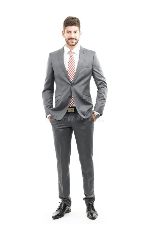 Retrato del hombre de las ventas fotografía de archivo