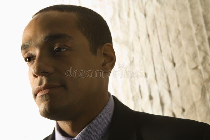 Retrato del hombre de negocios. imagenes de archivo