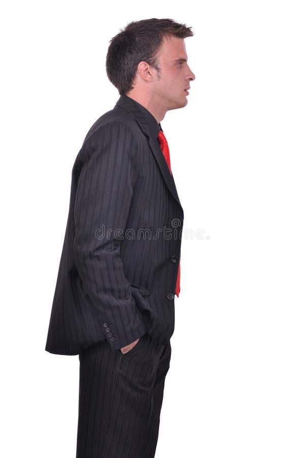 Retrato del hombre de negocios atractivo joven fotos de archivo