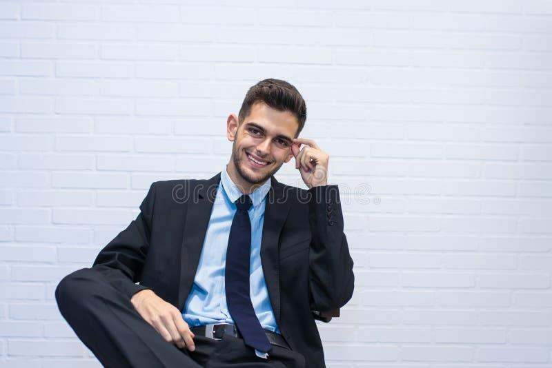 Retrato del hombre de negocios imagen de archivo