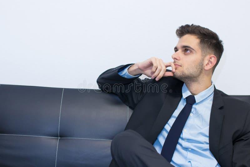 Retrato del hombre de negocios fotos de archivo