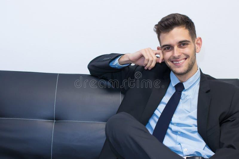 Retrato del hombre de negocios imagenes de archivo