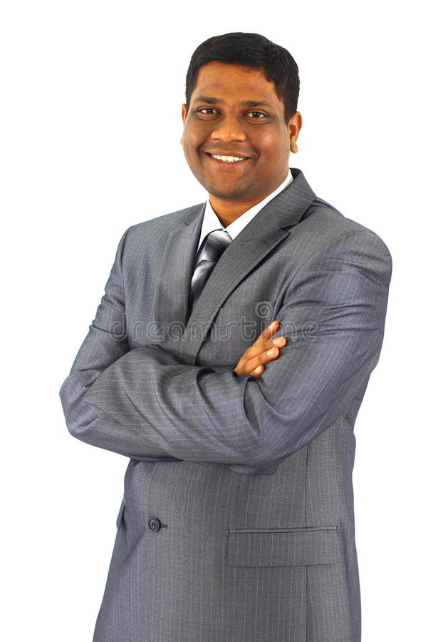 Retrato del hombre de negocios joven fotografía de archivo