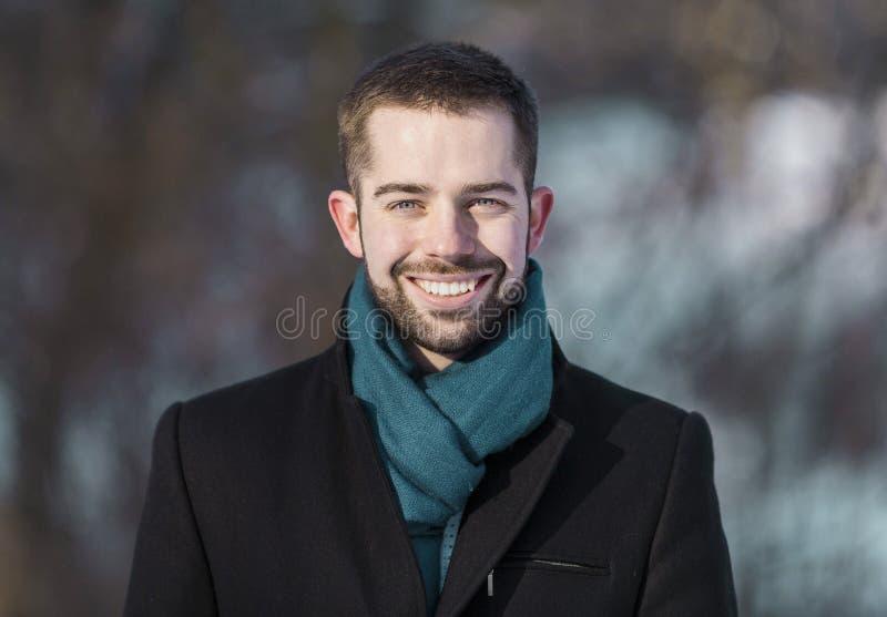 Retrato del hombre joven de Beared fotos de archivo