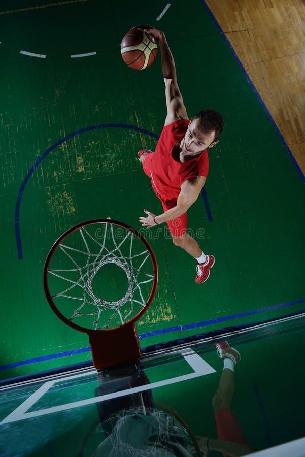 Retrato del jugador de básquet foto de archivo libre de regalías