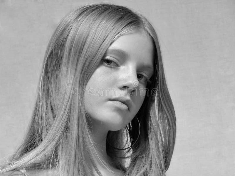 Retrato del modelo joven imagenes de archivo