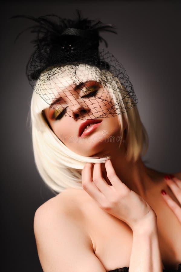 Retrato del modo de la sensualidad imagen de archivo libre de regalías