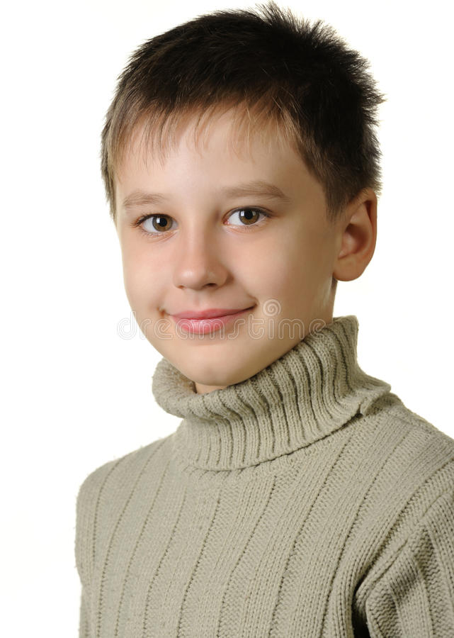 Retrato del muchacho. fotos de archivo