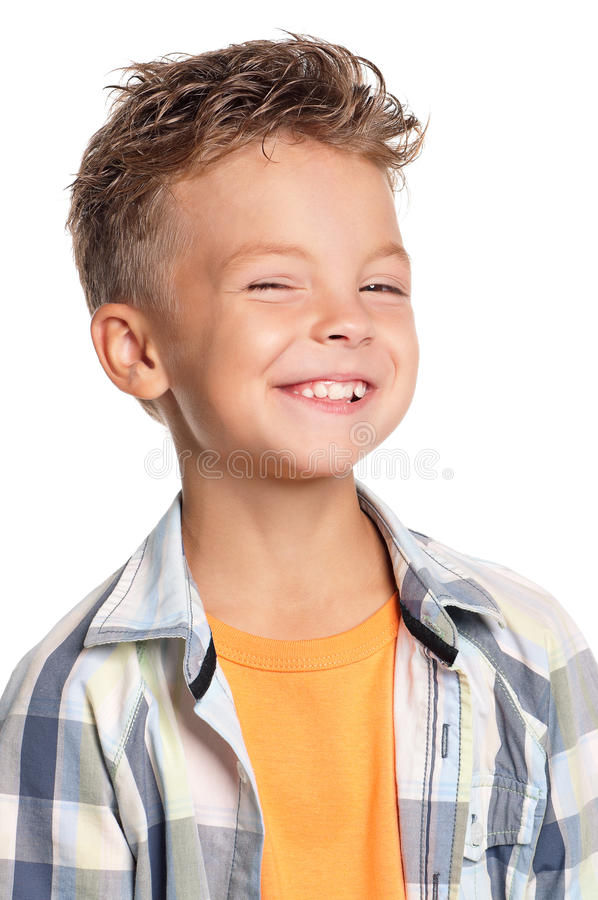 Retrato del muchacho imagen de archivo