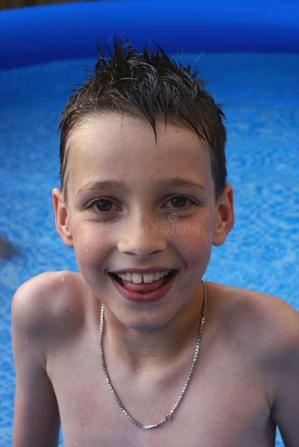 Retrato del muchacho. imagenes de archivo