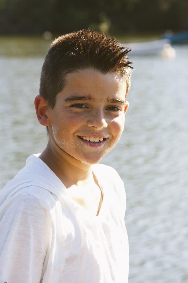 Retrato del muchacho imagenes de archivo