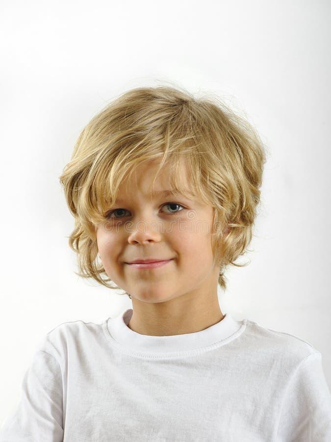 Retrato del muchacho joven imagen de archivo