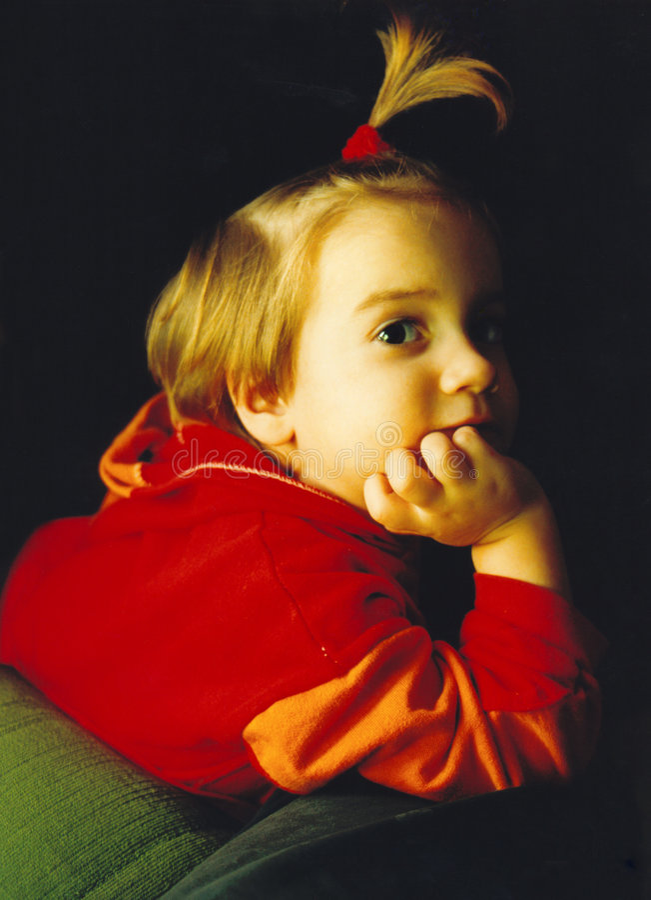 Retrato del niño 02 fotografía de archivo libre de regalías