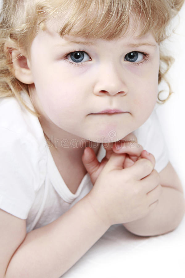 Retrato del niño imagenes de archivo