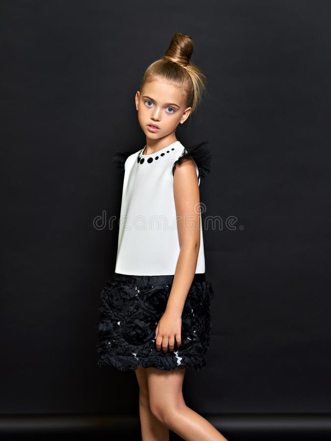 Retrato del niño hermoso imagen de archivo libre de regalías