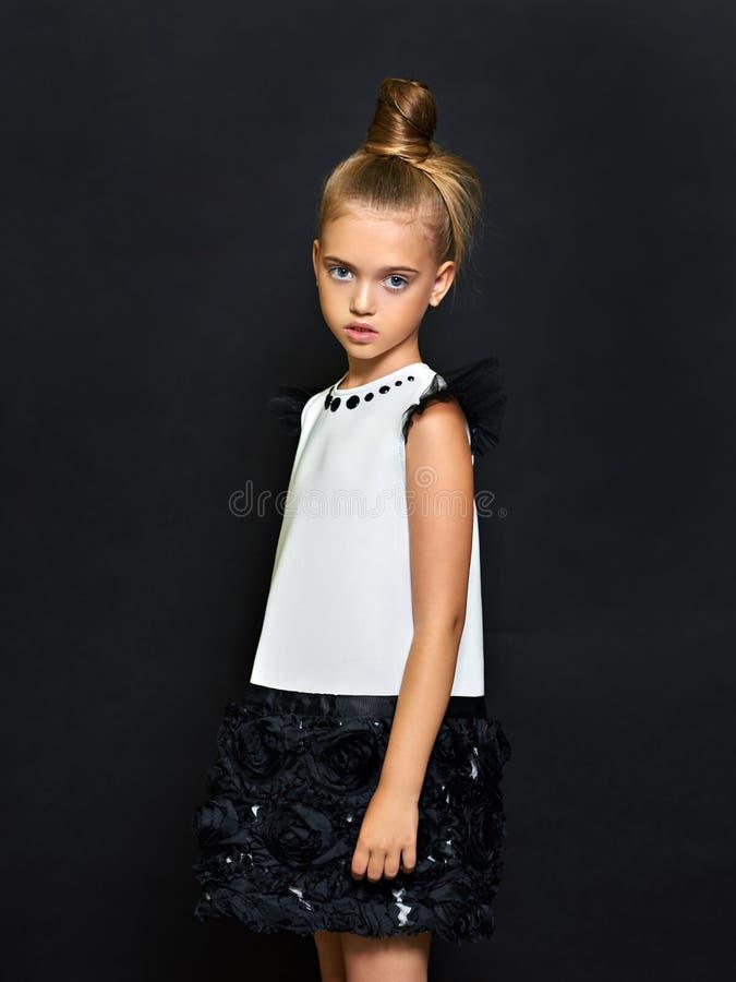 Retrato del niño hermoso foto de archivo
