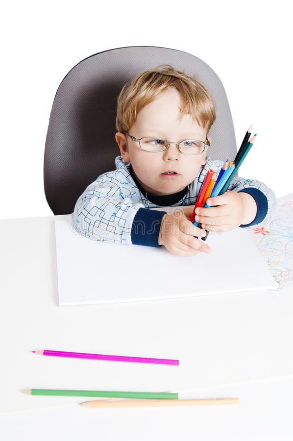 Retrato del niño pequeño fotos de archivo libres de regalías