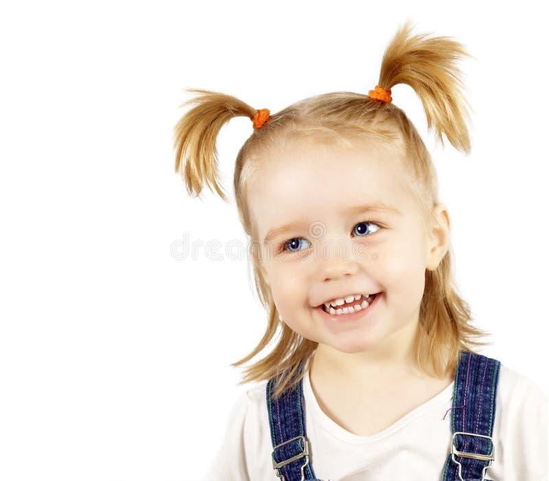 Retrato del niño sonriente feliz imágenes de archivo libres de regalías