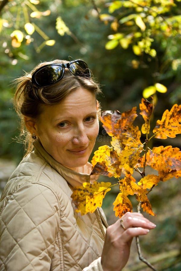 Retrato del otoño foto de archivo libre de regalías