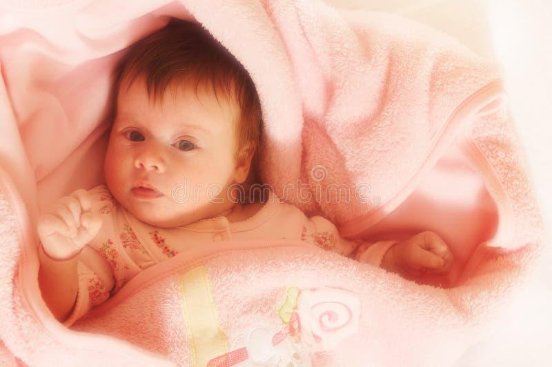 Retrato del pequeño bebé imagen de archivo libre de regalías