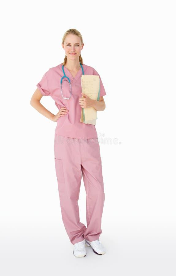 Retrato del profesional médico fotografía de archivo