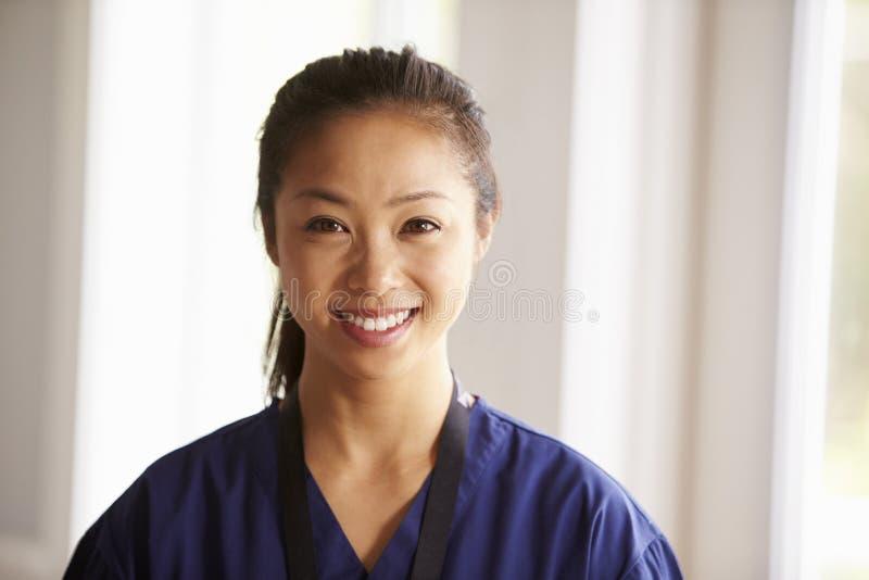 Retrato del proyecto de In Assisted Living de la enfermera imágenes de archivo libres de regalías