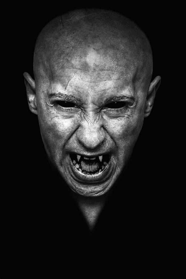 Retrato del vampiro imagen de archivo