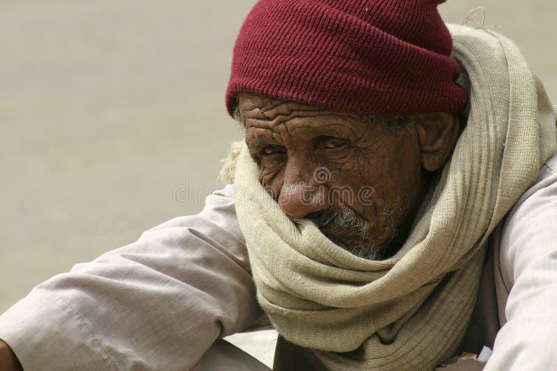 Retrato del viejo hombre imagen de archivo
