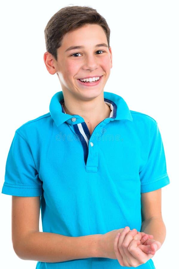 Retrato do adolescente considerável fotos de stock royalty free