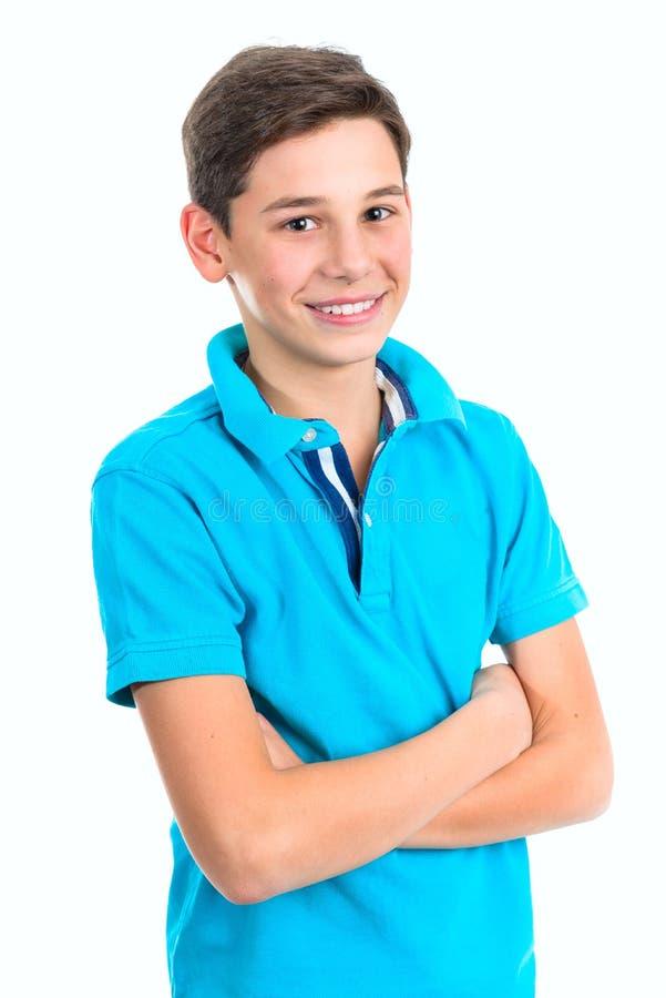 Retrato do adolescente considerável imagem de stock royalty free