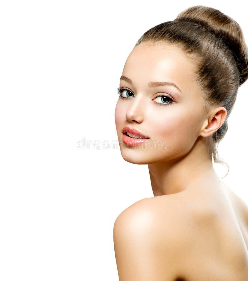 Retrato do adolescente da beleza imagens de stock royalty free