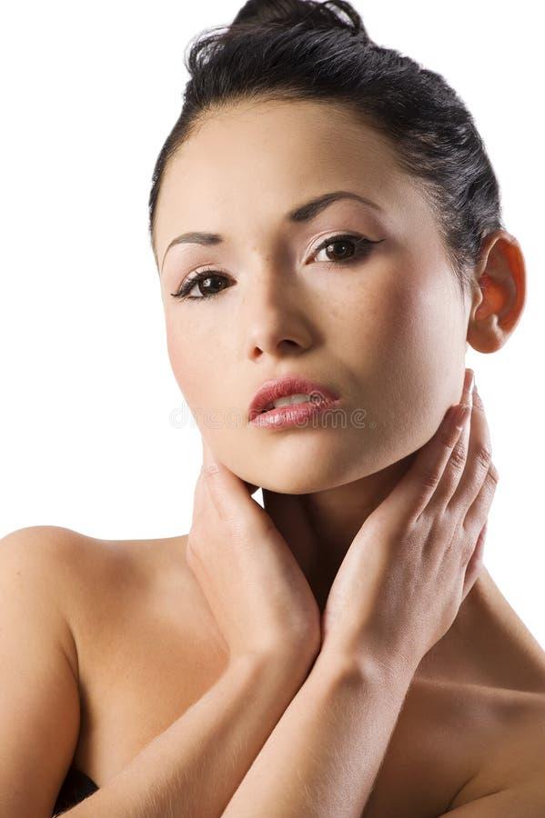 Retrato do asian da beleza foto de stock royalty free