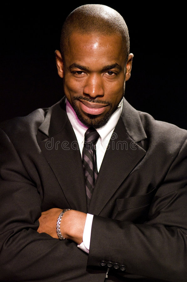 Retrato do ator de harris New York do Beau do ministro fotos de stock royalty free