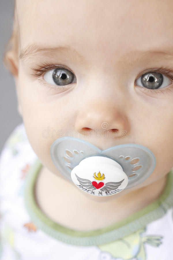 Retrato do bebé fotografia de stock royalty free