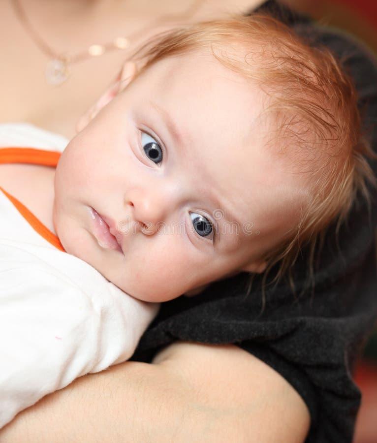 retrato do bebé imagem de stock royalty free