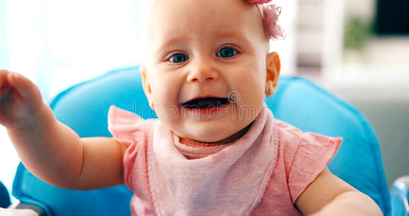 Retrato do bebê bonito imagens de stock royalty free
