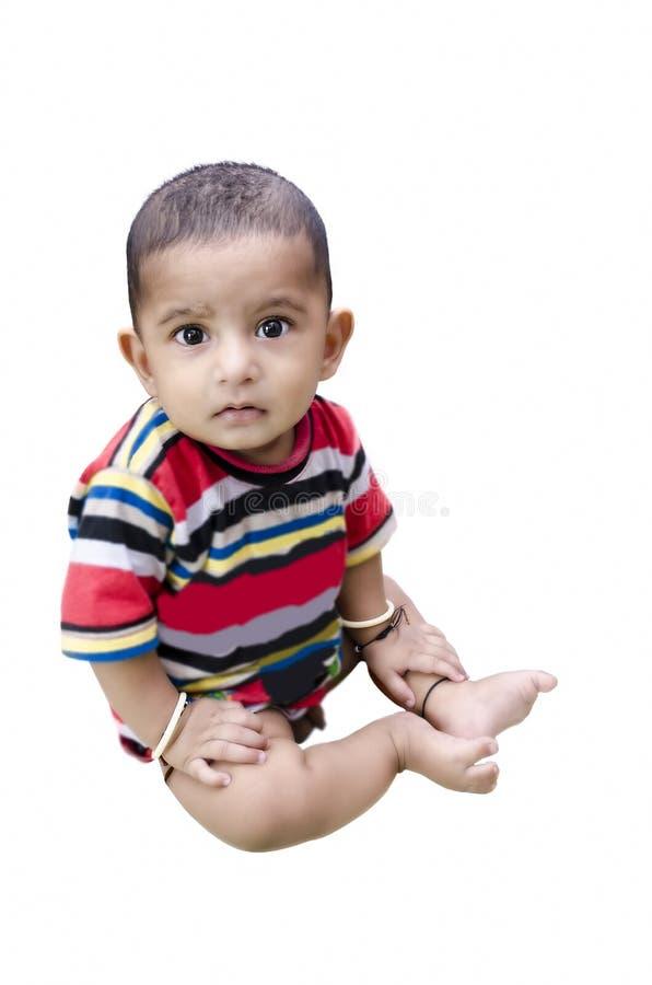 Retrato do bebê infantil fotos de stock royalty free