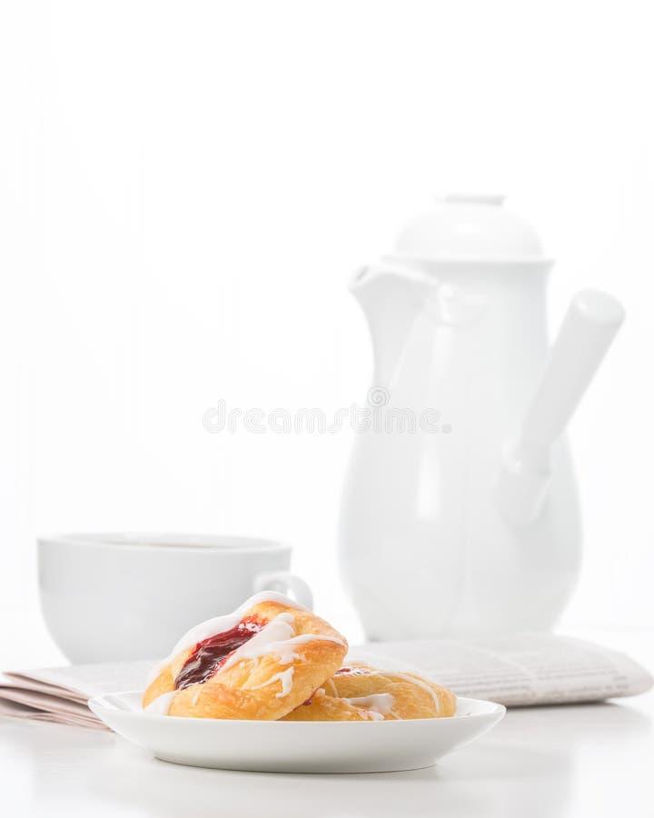 Retrato do café da manhã do bom dia imagens de stock royalty free