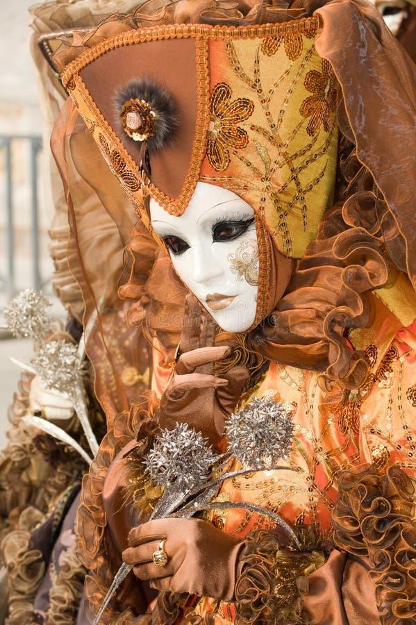 Retrato do carnaval imagem de stock royalty free