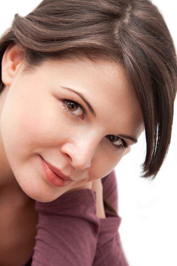 Retrato do close up foto de stock