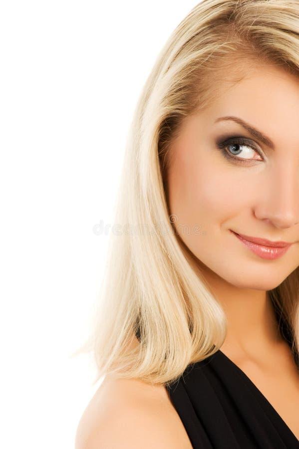 Retrato do close-up da mulher fotos de stock royalty free