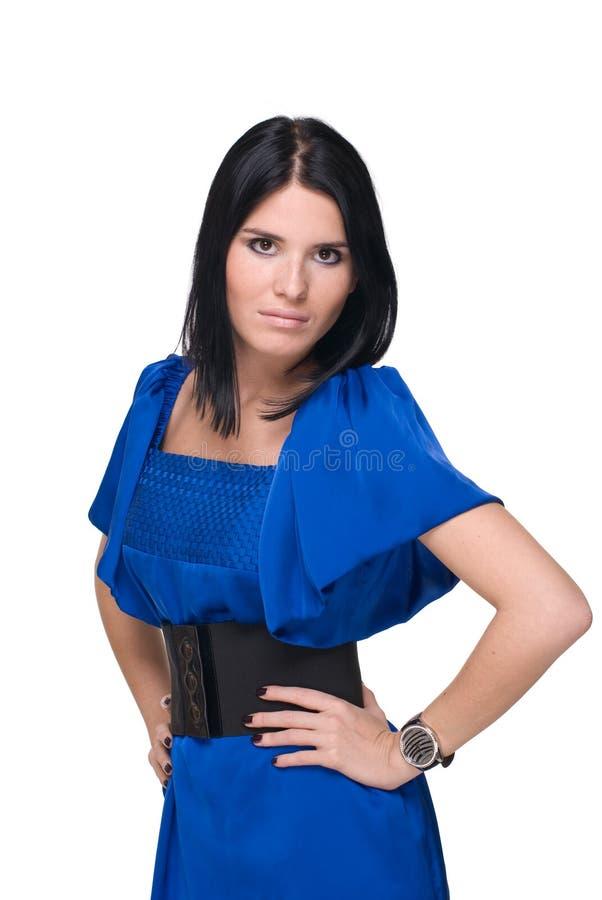 Download Retrato Do Close Up Da Mulher Bonita Da Forma Imagem de Stock - Imagem de adulto, limpo: 12805291
