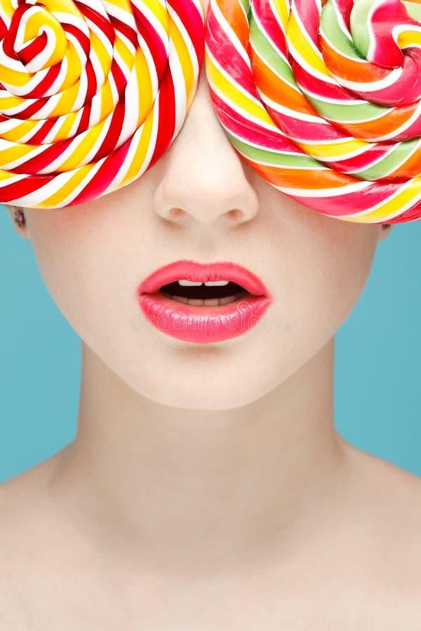 Vidros do Sugarplum imagens de stock royalty free