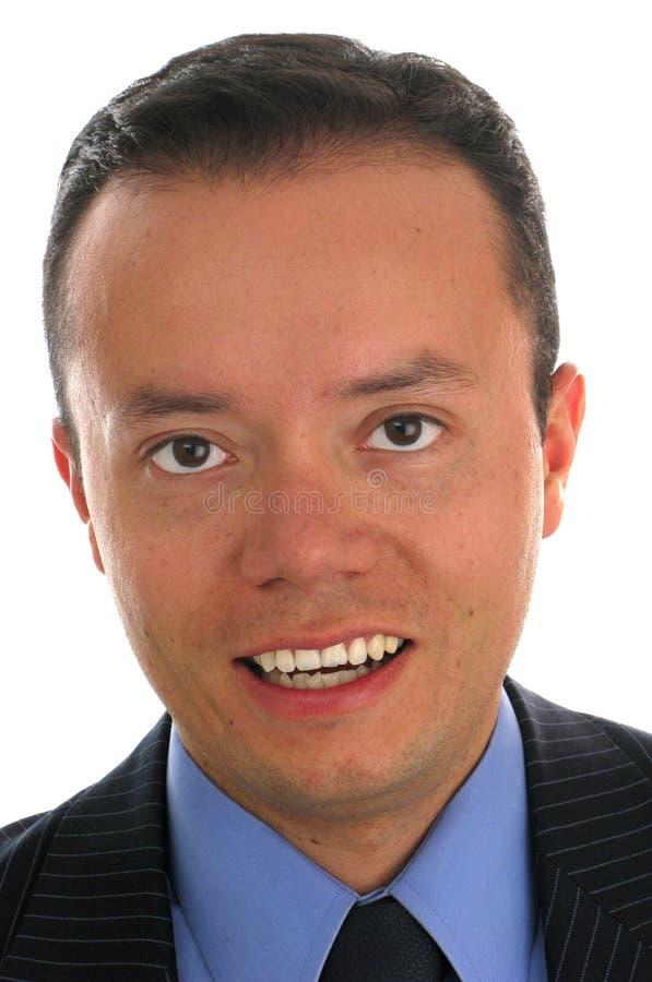 Retrato do Close-up de um homem de negócio fotos de stock