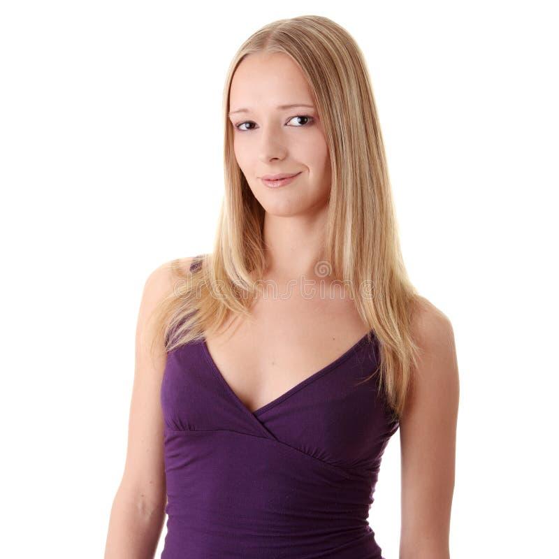 Download Retrato Do Close Up De Uma Mulher Nova Feliz Imagem de Stock - Imagem de feliz, felicidade: 10052983