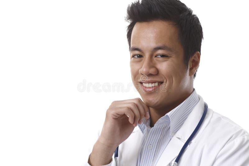 Retrato do close up do doutor considerável fotos de stock