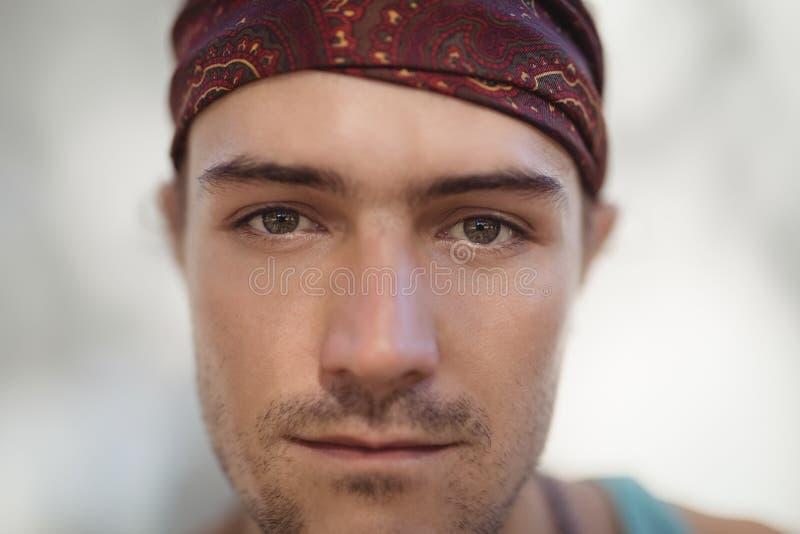 Retrato do Close-up do homem imagem de stock royalty free